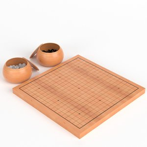 3D board stones ready