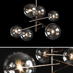 bolle chandelier 3D model