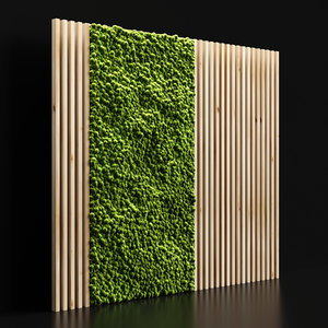 decoration moss 3D model