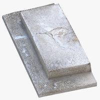 3D concrete steps 03