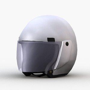 3D motorcycle police helmet