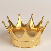 Gold crown 1