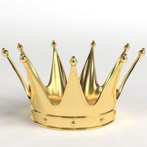 gold crown 2 3D