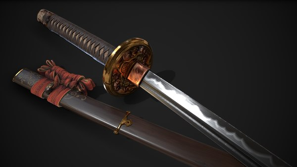 katana : 3D model