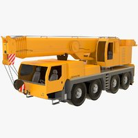1100-4 ltm 2 mobile crane 3D model