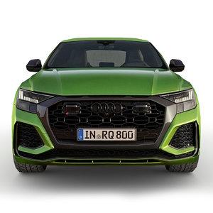 3D car 2020 rs q8 model