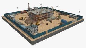 3D scene construction 3 model