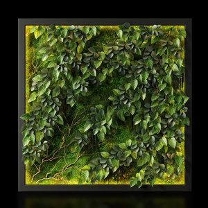 panel green 03 3D