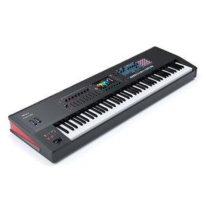 3D keyboard music workstation roland