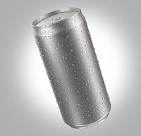 Energetic Beverage Can With Water Droplets 220ml