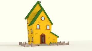 3D model house dramatic