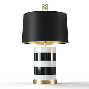 3D mr big table lamp model