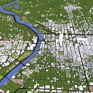 philadelphia city 3D