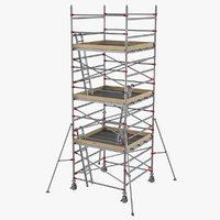 3D scaffolding industrial construction
