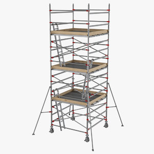 3D scaffolding industrial construction