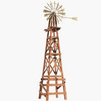 3D wind windmill