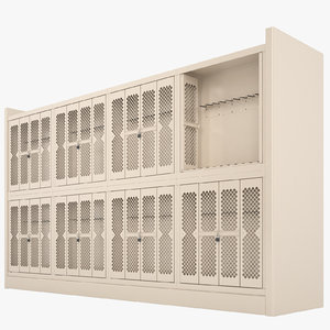 storage shelving weapon 3D