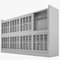 Storage Shelving Weapon 06