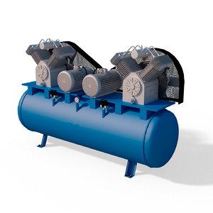 air compressor bejeck aco 3D model