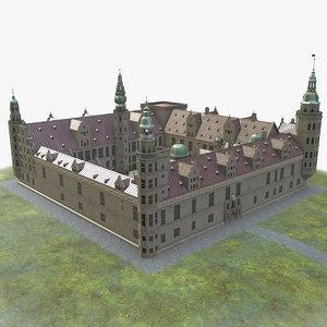 kronborg castle 3D