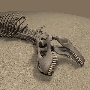 t rex 3D model