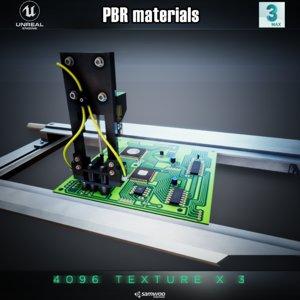 pcb slider picker model