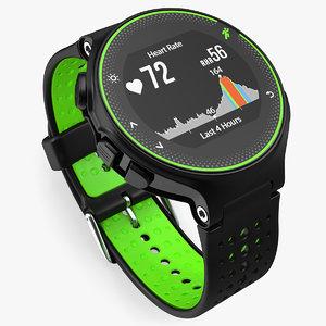 3D sport watch generic