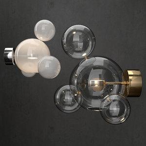 bolle lamp giopato 3D model