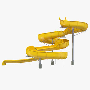 3D body water slide