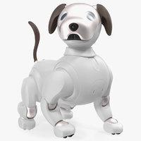 Sony Aibo 2017 Robotic Pet Rigged