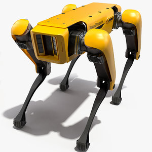 spotmini boston dynamics rigged model