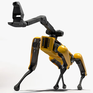 3D spotmini boston dynamics manipulator