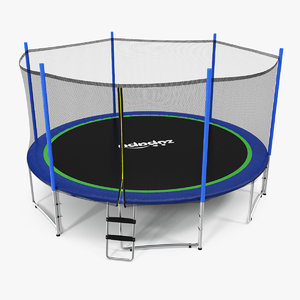 zupapa 15ft trampoline 3D