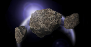 asteroids space model