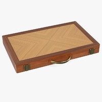 folded backgammon case model