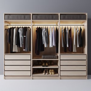 wardrobe box 3D model