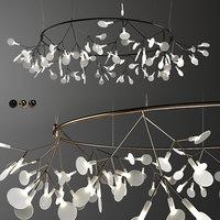 heracleum chandelier 3D model