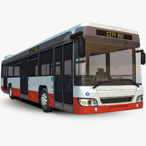3D model generic bus
