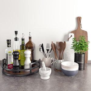 accessories kitchen model