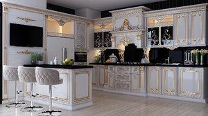 kitchen interior design corat model