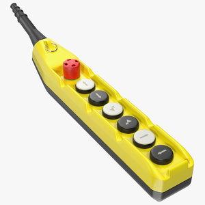 crane push button model