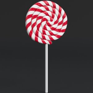 3D lollipop ready