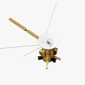 cassini orbiter nasa 3D model