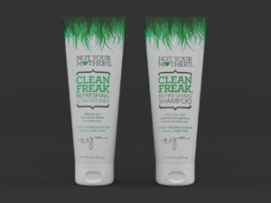 3D clean freak refreshing shampoo