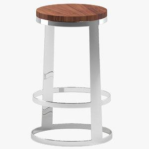 aro stool 3D model