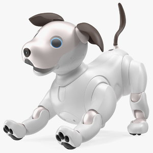 3D sony aibo 2017 playing