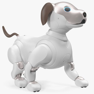 3D sony aibo 2017 walking model