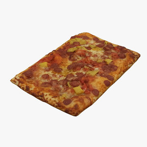 pizza food 3D model