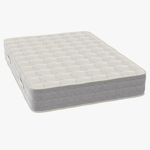 3D double size sleeping mattress