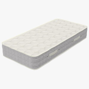 3D single size sleeping mattress
